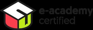 Logo e-Academy certified