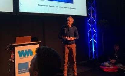 Martin van Kranenburg op de Webwinkel Vakdagen