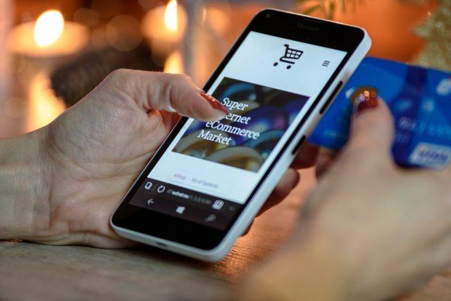 Shoppen via smartphone