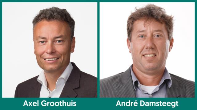Axel Groothuis en André Damsteegt