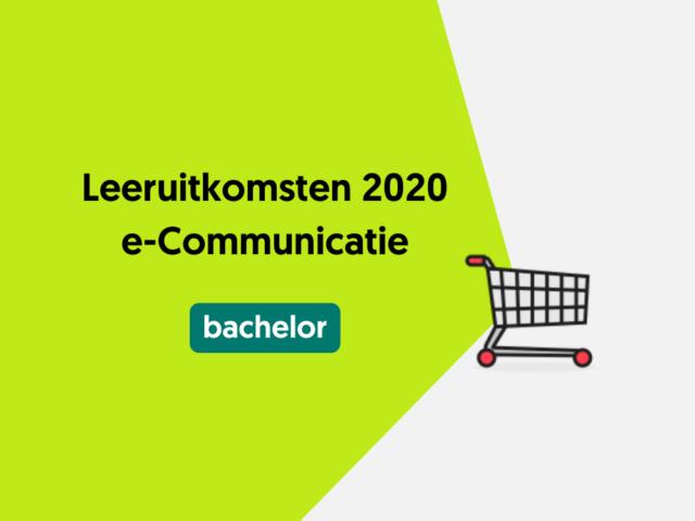 Leeruitkomsten 2020 e-Communicatie