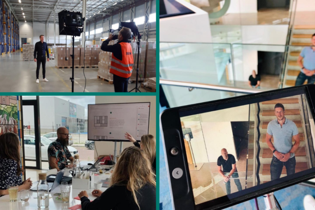 Behind the scenes - e-learnings